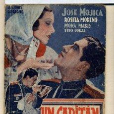 Cine: UN CAPITÁN DE COSACOS, CON JOSÉ MOJICA. NOVELILLA.. Lote 35568446