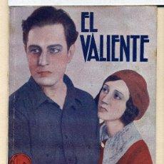 Cine: EL VALIENTE, CON JUAN TORENA NOVELILLA.. Lote 35573278