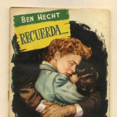 Cine: RECUERDA, CON INGRID BERGMAN. NOVELILLA.. Lote 35575399