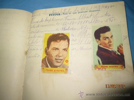Cine: LIBRETAS ANTIGUAS ALBUM CON CROMOS O ESTAMPAS ANTIGUOS DE ACTORES FAMOSOS DE CINE GRANDES ESTRELLAS - Foto 15 - 35840107
