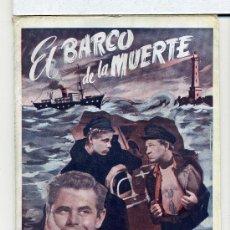 Cine: EL BARCO DE LA MUERTE, CON GLENN FORD. NOVELILLA.. Lote 35983945