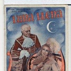 Cinema: LUNA LLENA, CON JEANETTE MACDONALD. NOVELILLA. Lote 35986119