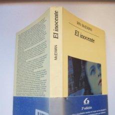 Cine: EL INOCENTE, DE IAN MCEWAN. NOVELA PELÍCULA DE J. SCHLESINGER: ANTHONY HOPKINS, ISABELLA ROSSELLINI. Lote 37685335