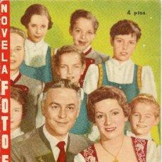 Cine: NOVELA FOTOGRÁFICA - 1958 - FAMILIA TRAPP. Lote 38722445