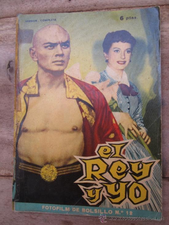 Cine: fotofilm de bolsillo , numero 12- el rey y yo , deborah kerr - yul brynner 1959 - Foto 10 - 38948827