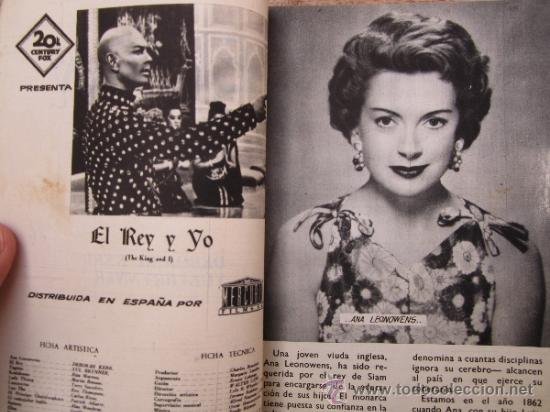 Cine: fotofilm de bolsillo , numero 12- el rey y yo , deborah kerr - yul brynner 1959 - Foto 2 - 38948827