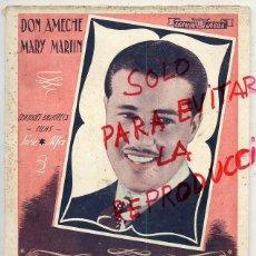 Cine: BUSCANDO FAMA DON AMECHE EDITORIAL ALAS NOVELA 70 PAGINAS . Lote 39671087