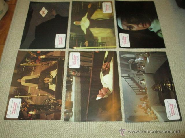 Cine: Cartas de amor de una monja, Jose Frade, Alfredo Alcon, Analia Gade, 12 fotocromos, lobby cards - Foto 3 - 40084905