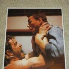 Cine: LIONHEART, JEAN CLAUDE VAN DAMME, 10 FOTOCROMOS, LOBBY CARDS, LUCHA. Lote 40084971