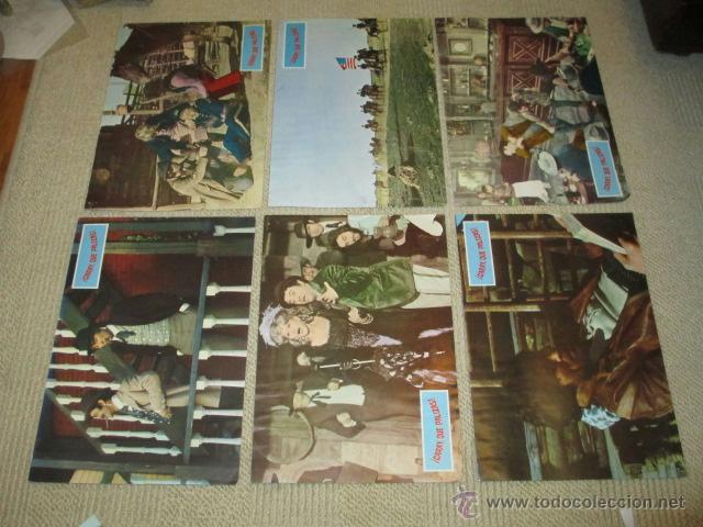 Cine: ¡ Caray que palizas !, Franco Ciferri, Salvatore Borghese, 12 fotocromos, lobby cards, western - Foto 2 - 40085205