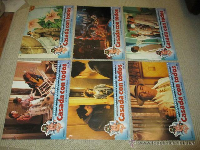 Cine: Casada con todos, Michelle Pfeiffer, Matthew Modine, Dean Stockwell, 12 fotocromos, lobby cards - Foto 3 - 40085307