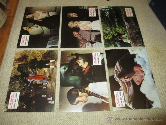 Cine: Mi padre el señor cura, Giancarlo Giannini, Barbara Bach, 12 fotocromos, lobby cards - Foto 2 - 40450368