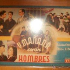 Cine: CINEVIDA:-LOTE DE 4 ...Y MAÑANA SERAN HOMBRES, ORO NEGRO, PUERTA DE 7 CERRADURAS, REBECA. Lote 40935542