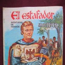 Cinéma: EL ESTAFADIR. AVENTURAS DE IVANHOE. ROGER MOORE. EDITOR PRESS Nº 4. CINE FOTO NOVELA.PORTADA DE JANO. Lote 41141139