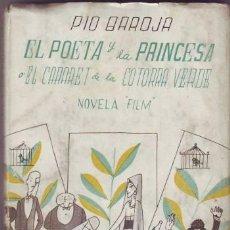 Cine: BAROJA, PÍO: EL POETA Y LA PRINCESA O EL CABARET DE LA COTORRA VERDE.. Lote 42227831