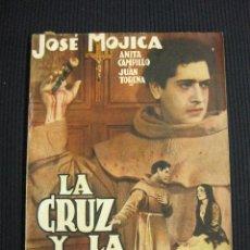 Cine: LA CRUZ Y LA ESPADA. ARGUMENTO NOVELADO CON FOTOS DEL FILME. EDICIONES BISTAGNE.. Lote 42303267