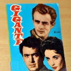 Cine: FOTOFILM DE BOLSILLO, Nº 11: GIGANTE - ELIZABETH TAYLOR, ROCK HUDSON, JAMES DEAN - MANDOLINA 1959. Lote 42325595