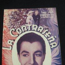 Cine: LA CONTRASEÑA. ARGUMENTO NOVELADO CON FOTOS DEL FILM. EDICIONES BISTAGNE. SERIE TRIUNFO.. Lote 42421999