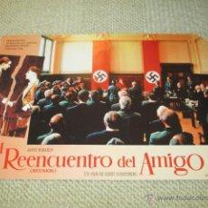Cine: EL REENCUENTRO DEL AMIGO, JASON ROBARDS, JERRY SCHATZBERG 12 FOTOCROMOS, LOBBY CARDS NAZI. Lote 42454906
