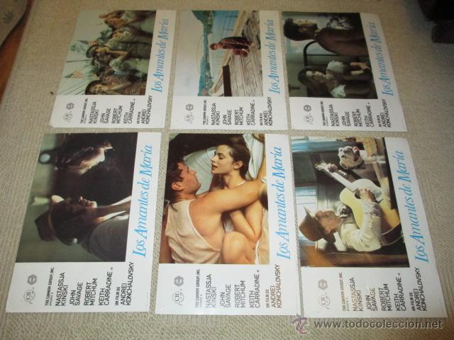 Cine: Los amantes de María, Natassja Kinski, Robert Mitchum,John Savage 10 fotocromos, lobby cards - Foto 3 - 42479020
