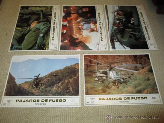 Cine: Pájaros de fuego, fire birds Nicolas Cage, Sean Young 11 fotocromos, lobby cards - Foto 2 - 42479086