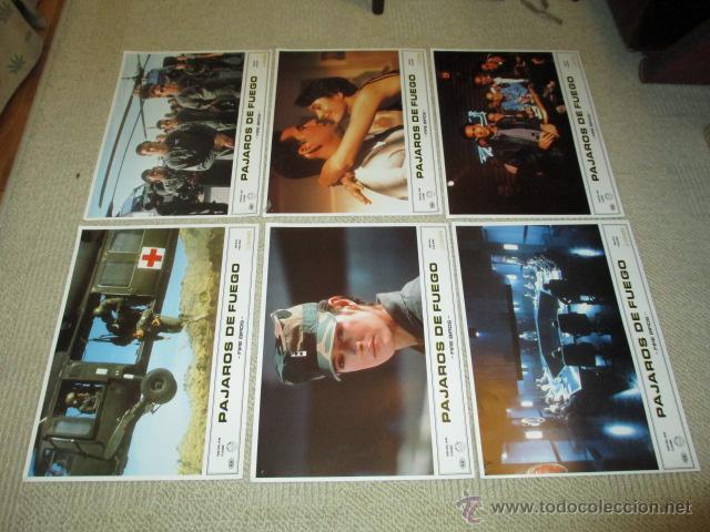 Cine: Pájaros de fuego, fire birds Nicolas Cage, Sean Young 11 fotocromos, lobby cards - Foto 3 - 42479086