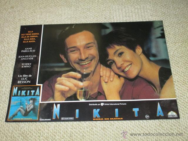 NIKITA, DURA DE MATAR, ANNE PARILLAUD, LUC BESSON 8 FOTOCROMOS, LOBBY CARDS (Cine - Foto-Films y Cine-Novelas)
