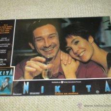 Cine: NIKITA, DURA DE MATAR, ANNE PARILLAUD, LUC BESSON 8 FOTOCROMOS, LOBBY CARDS. Lote 42479185