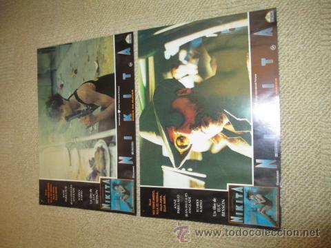 Cine: Nikita, dura de matar, Anne Parillaud, Luc Besson 8 fotocromos, lobby cards - Foto 2 - 42479185