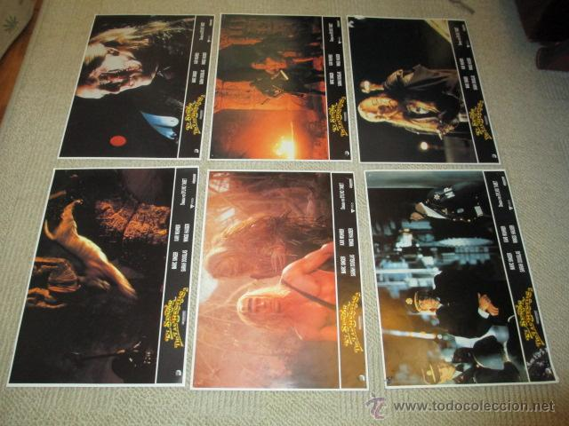 Cine: El señor de las Bestias, Marc Singer, Kari Wuhrer, por Sylvio Tabet 10 fotocromos, lobby cards - Foto 3 - 42479381