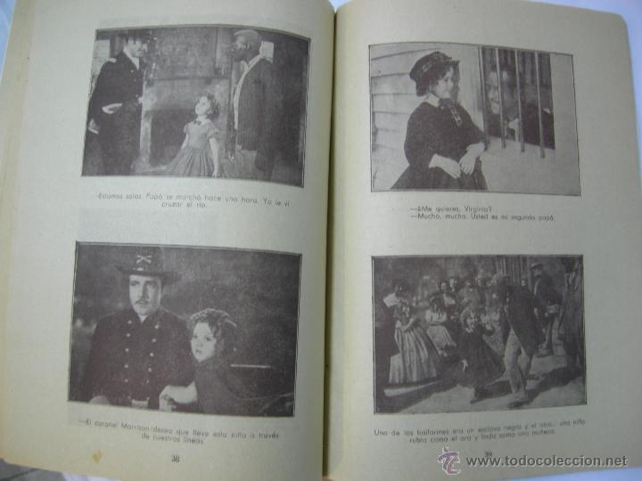 Cine: REBELDE SHIRLEY TEMPLE - LA NOVELA SEMANAL CINEMATOGRAFICA - 1930/1940 - 1ª EDICION, ED. BISTAGNE, - Foto 8 - 42484314