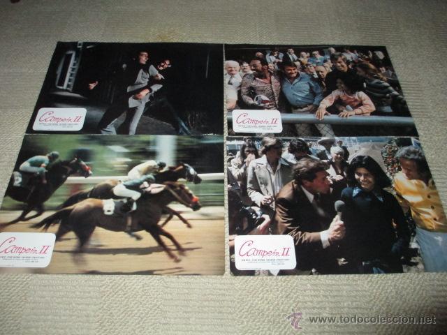 Cine: Campeón II, Vera Miles, Stuart Whitman,Panchito Gómez, 12 fotocromos, lobby cards hípica - Foto 3 - 43226655
