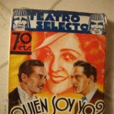 Cine: ANTIGUO LIBRETO TEATRO SELECTO ORIGINAL AÑOS 20. Lote 43570753
