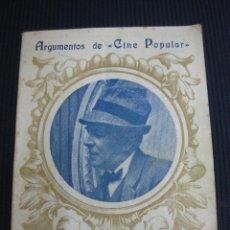 Cine: WILLIAM BALUCHET REY DE LOS DETECTIVES. M. M. MANLOY. ARGUMENTO NOVELADO CON FOTOS DEL FILM. . Lote 45798793