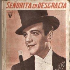 Cine: SEÑORITA EN DESGRACIA - RKO RADIO FILMS - GUÍA DE CINE. Lote 46202968