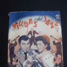 Cine: VIUDAS DEL JAZZ. ARGUMENTO NOVELADO CON FOTOS DEL FILM. EDICIONES BISTAGNE. SERIE TRIUNFO. Lote 46209250