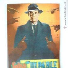 Cine: FALSO CULPABE - HENRY FONDA HITCHCOCK REVISTA FOTOFILM BOLSILLO Nº 21 ED. MANDOLINA. Lote 46409562