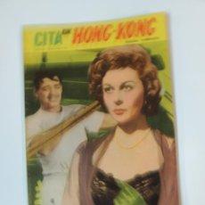 Cine: CITA EN HONG KONG CLARK GABLE SUSAN HAYWARD - NOVELA FOTOFILM DE BOLSILLO Nº 13 ED.MANDOLINA. Lote 46450995