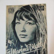 Cine: MARINA VLADY - COLECCION IDOLOS DEL CINE Nº 28 AÑO 1958. Lote 46451375