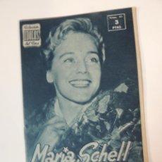 Cine: MARIA SCHELL - COLECCION IDOLOS DEL CINE Nº 65 AÑO 1958. Lote 46451648