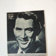 Cine: GREGORY PECK - COLECCION IDOLOS DEL CINE Nº 36 AÑO 1958. Lote 46451941