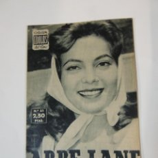 Cine: ABBE LANE - COLECCION IDOLOS DEL CINE Nº 32 AÑO 1958. Lote 46452511