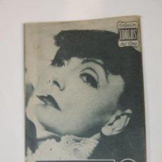 Cine: GRETA GARBO - COLECCION IDOLOS DEL CINE Nº 98 AÑO 1958. Lote 46452761
