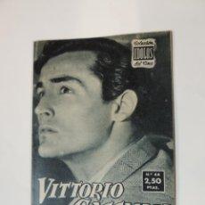 Cine: VOTTORIO GASSMAN - COLECCION IDOLOS DEL CINE Nº 44 AÑO 1958. Lote 46452799