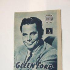 Cine: GLENN FORD - COLECCION IDOLOS DEL CINE Nº 72 AÑO 1958. Lote 46452906