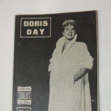 Cine: DORIS DAY - COLECCION IDOLOS DEL CINE Nº 89 AÑO 1958. Lote 46453224