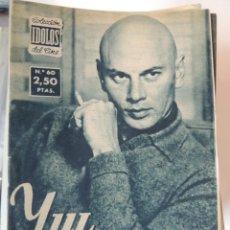 Cine: YUL BRYNNER - COLECCION IDOLOS DEL CINE Nº 60 AÑO 1958. Lote 46453486