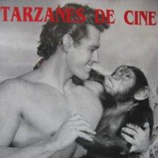 Cine: TARZÁN DE CINE. 6 LÁMINAS FOTOGRÁFICAS. 31 X 43 CM. 1993 ROYAL BOOKS.. Lote 46715387