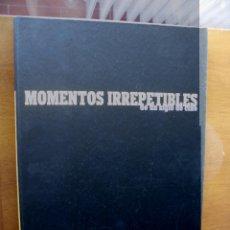 Cine: MOMENTOS IRREPETIBLES DE UN SIGLO DE CINE. 25 FOTOGRAMAS, EN CARPETA PROTECTORA. CINEMANÍA.. Lote 46716259
