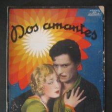 Cine: DOS AMANTES. LA NOVELA SEMANAL CINEMATOGRÁFICA. FRED NIBLO. VILAM BANKY. RONALD COLMAN.. Lote 47023044